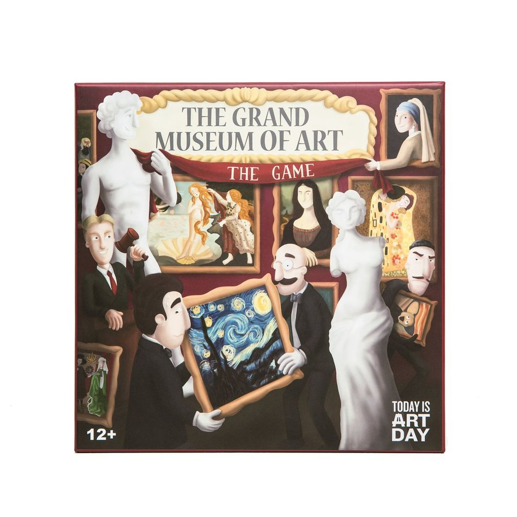 Shop: The Grand Museum of Art Board Game