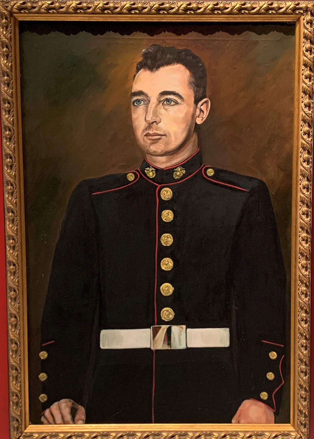 Portrait of Mitchell Paige, artist unknown, oil on canvas, undated. Gift of the Serb National Foundation. Heinz History Center museum collections.