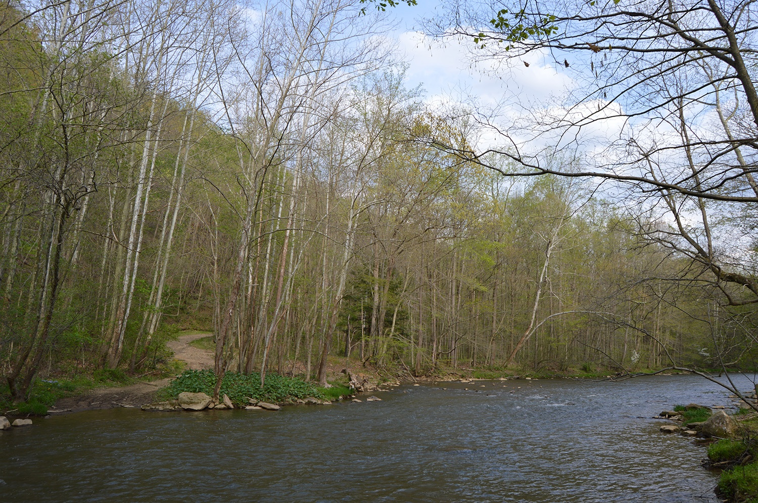 Jacob's Creek in Western Pennsylvania was the site of a Virginian settlement in the years prior to the American Revolution.