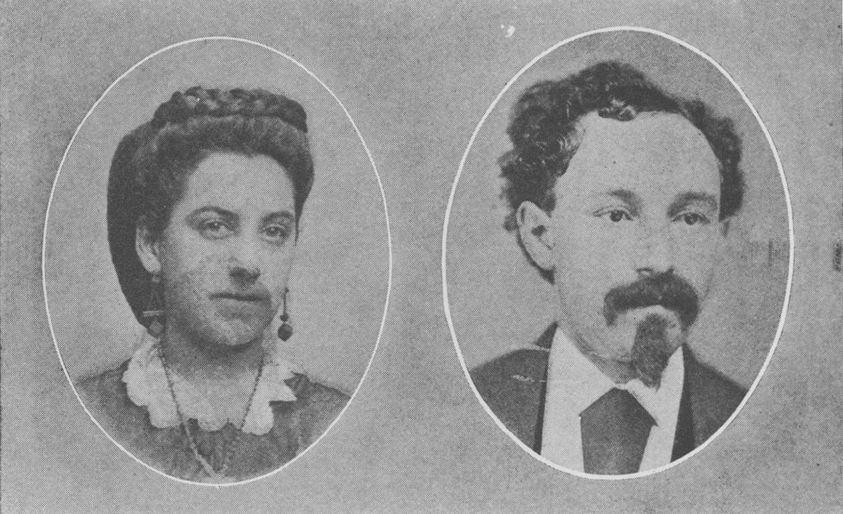 "Barney May married Pauline Fleischman in 1872, after his sister introduced them. He was living in Williamsport, Pa. She was living in Pittsburgh, where they eventually settled about 1890. From ""The Story of Barney May, Pioneer,"" by George M. P. Baird."