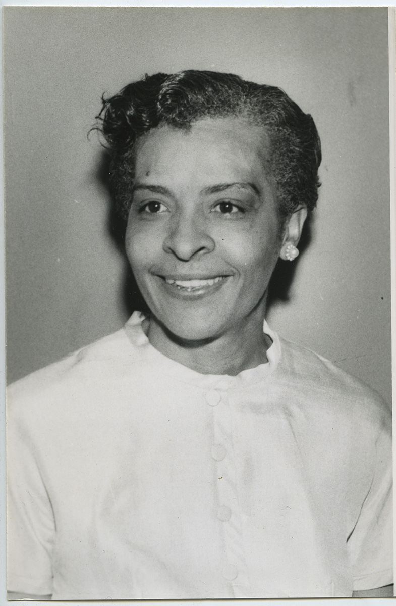 Portrait of Maude Y. Hawkins, c. 1960. Maude Y. Hawkins Photographs, MSQ 171, Detre Library & Archives at the History Center.