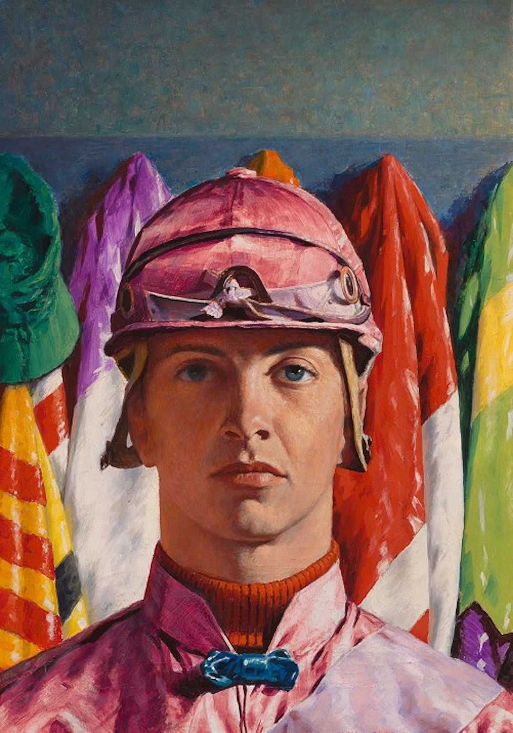 William Hartack, by James Ormsbee Chapin, oil on canvas, 1958. Courtesy of the National Portrait Gallery, Smithsonian Institution. Gift of TIME magazine, © James Cox Gallery at Woodstock for the James Chapin Estate.