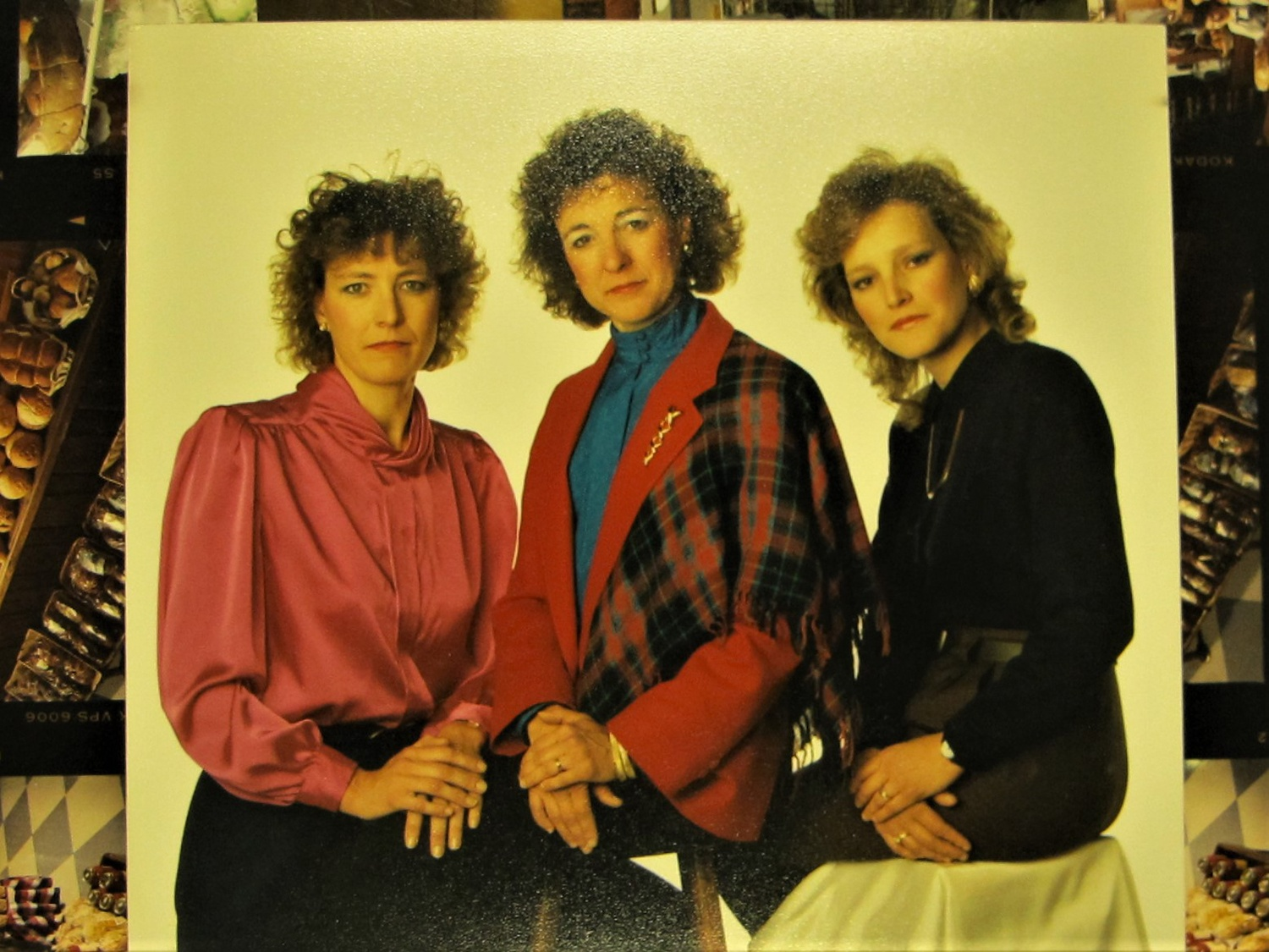 The McGinnis Sisters, Sharon Young, Bonnie Vello, and Noreen Campbell, after taking over the family's line of food stores in the 1980s.