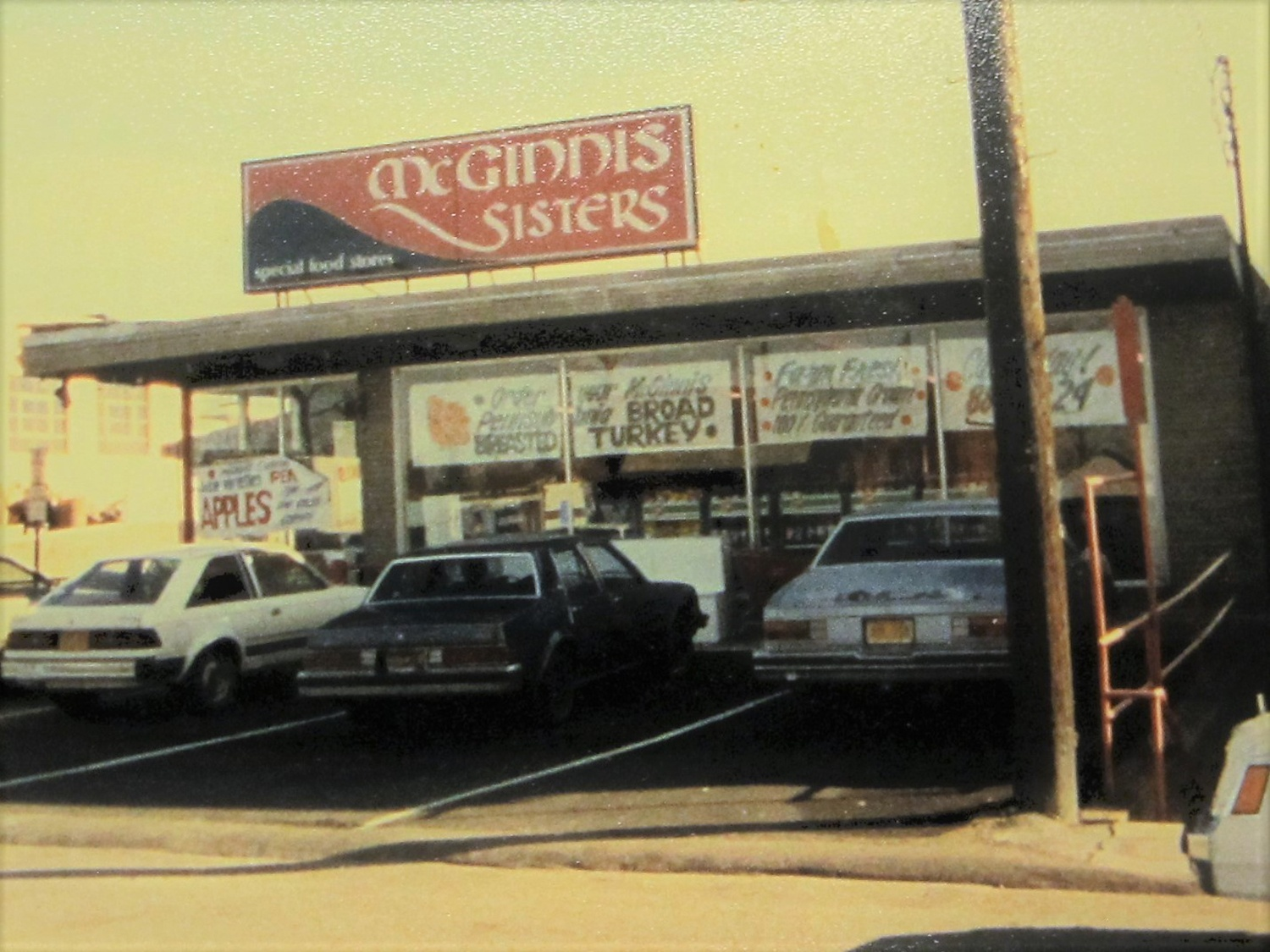 This image shows the McGinnis store in Baldwin sometime in the 1980s.
