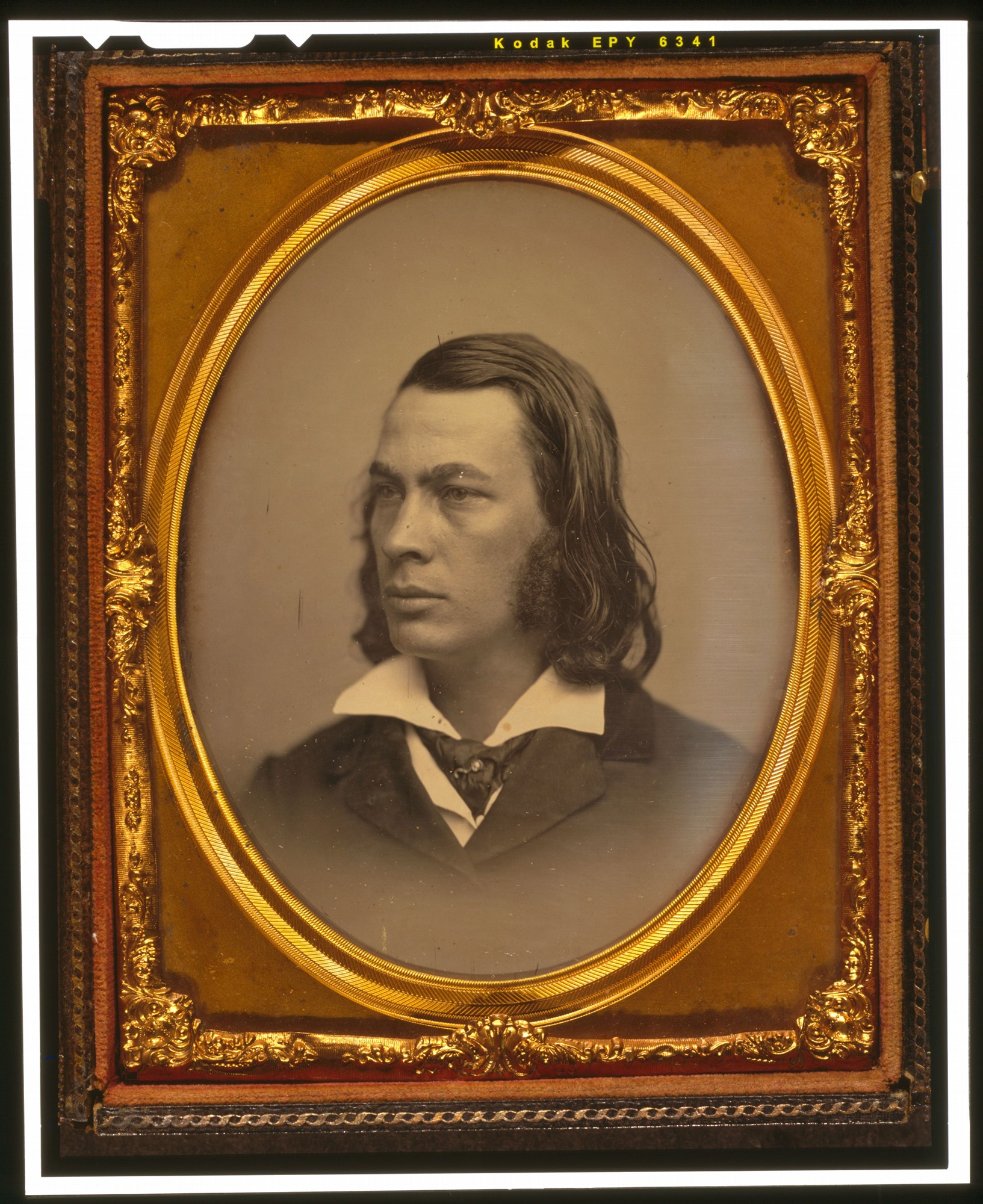 Portrait of George Lippard, daguerreotype, c. 1850. Courtesy of the Library of Congress Prints and Photographs Division, daguerreotype collection.