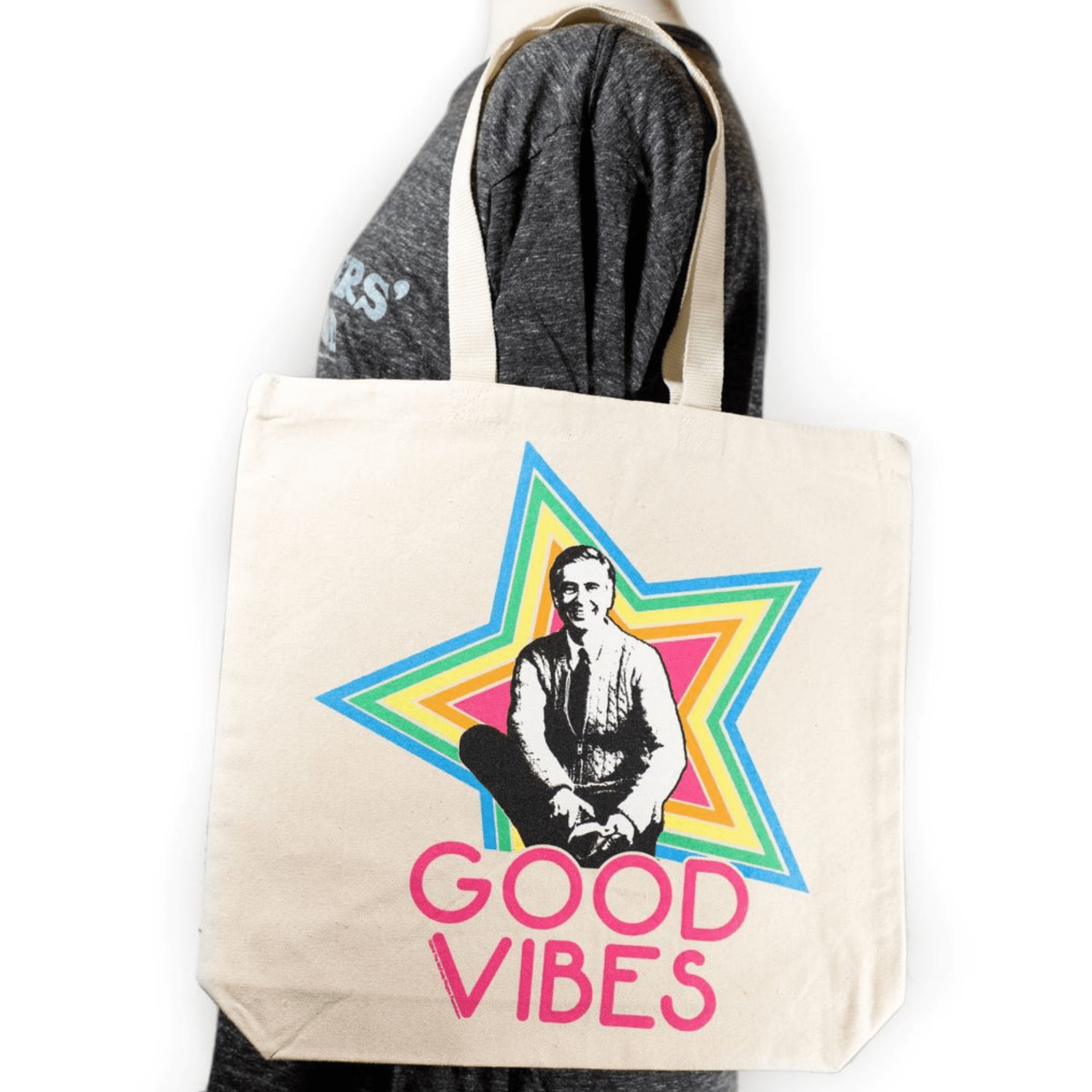 Shop: Mister Rogers Canvas Tote Bag