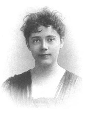 Photograph of Elizabeth Bisland, c. 1891.