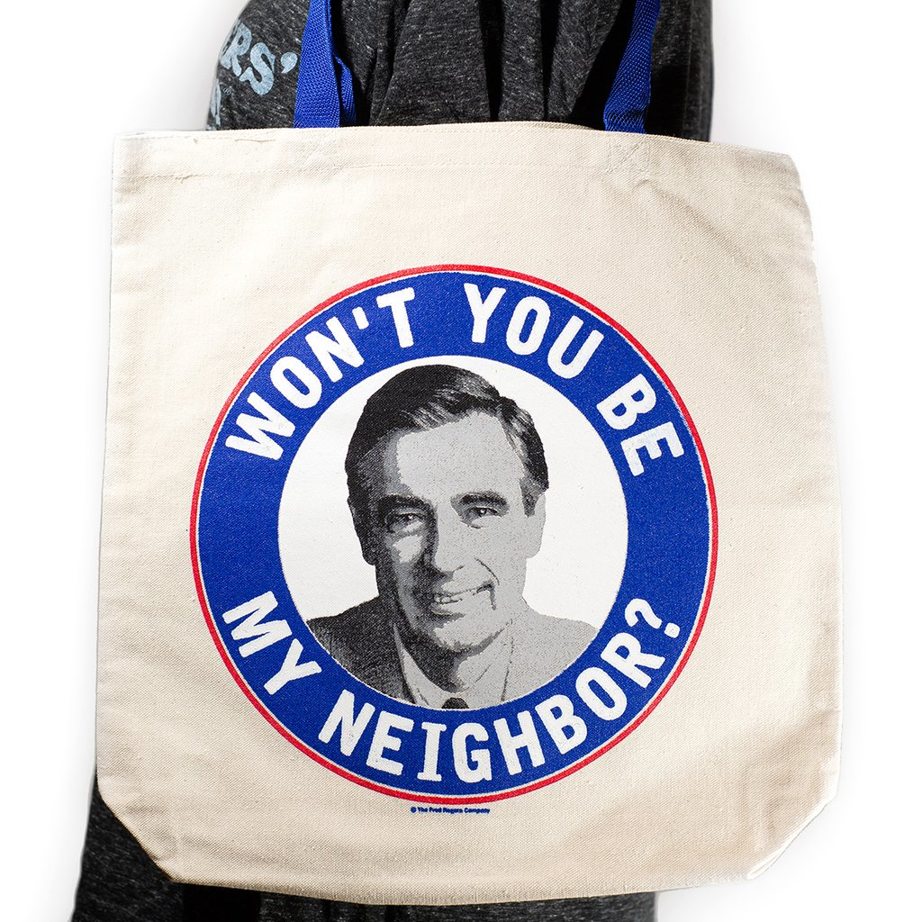 Shop: Won't You Be My Neighbor? Tote Bag