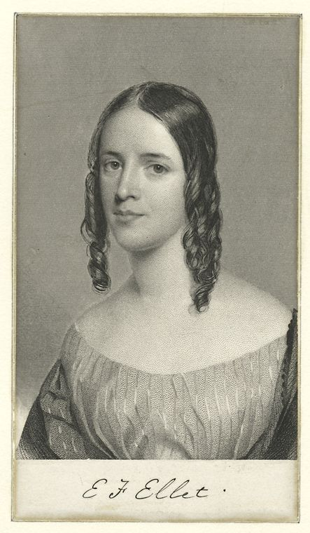 Portrait of Elizabeth Ellet, c. 1847. Courtesy of the New York Public Library.