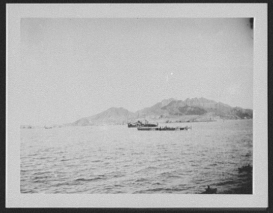 Ships in Aden Harbor, 1890. Courtesy of Library of Congress.