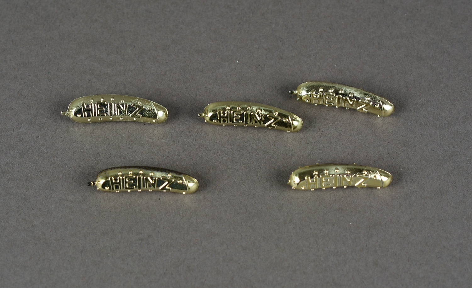 Gold Pickle Pins