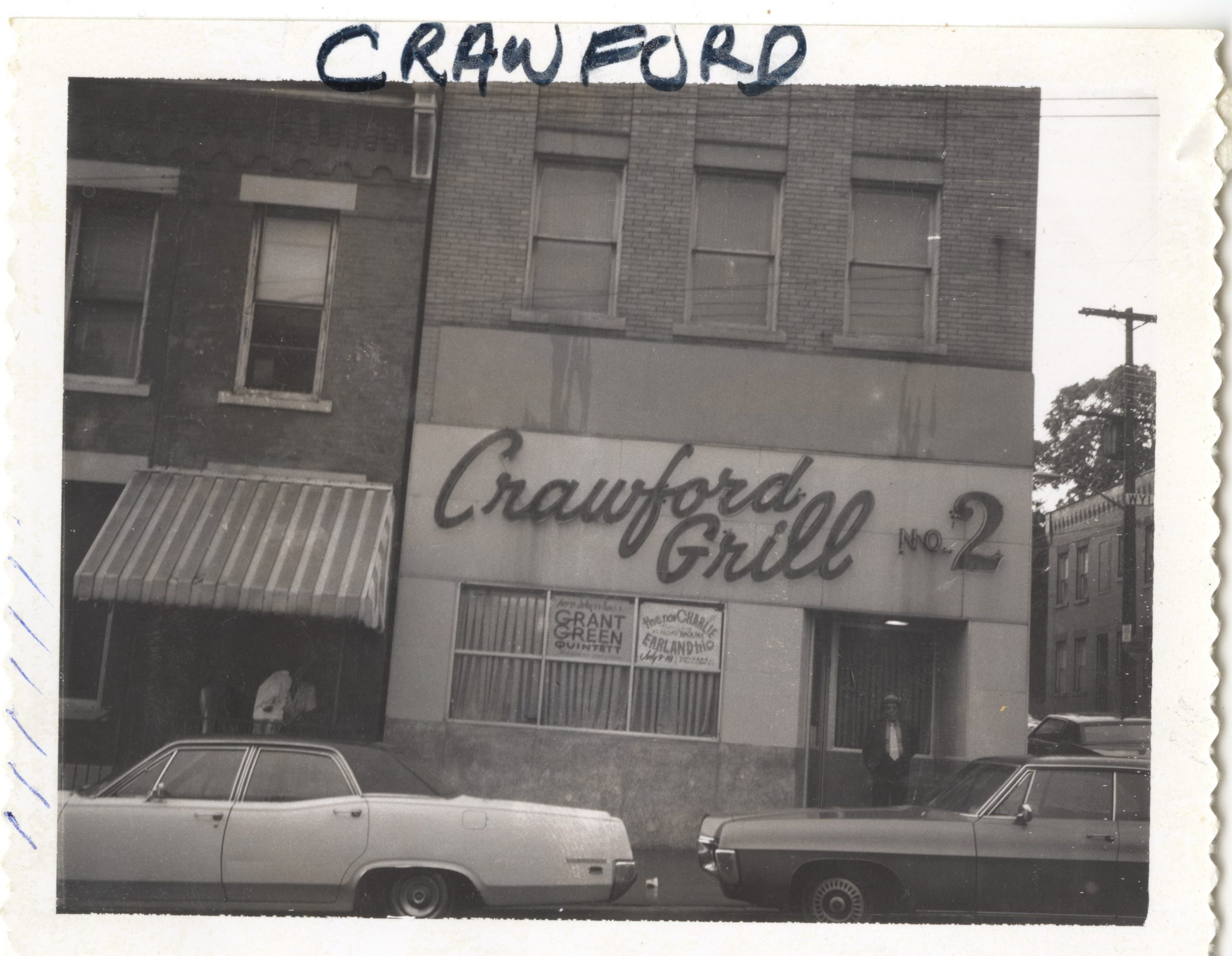 Crawford Grill #2, c. 1975. From the McBride Sign Company Photographs, Detre Library & Archives at the History Center.