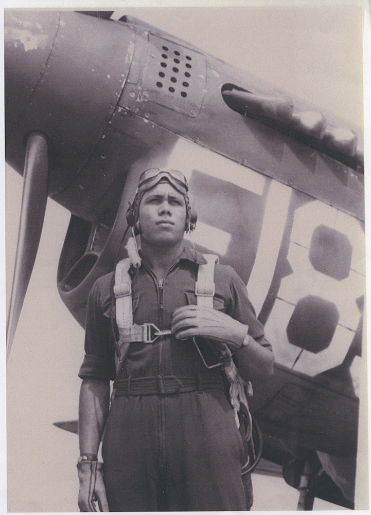 Photo of William A. Johnston, Tuskegee Airman.