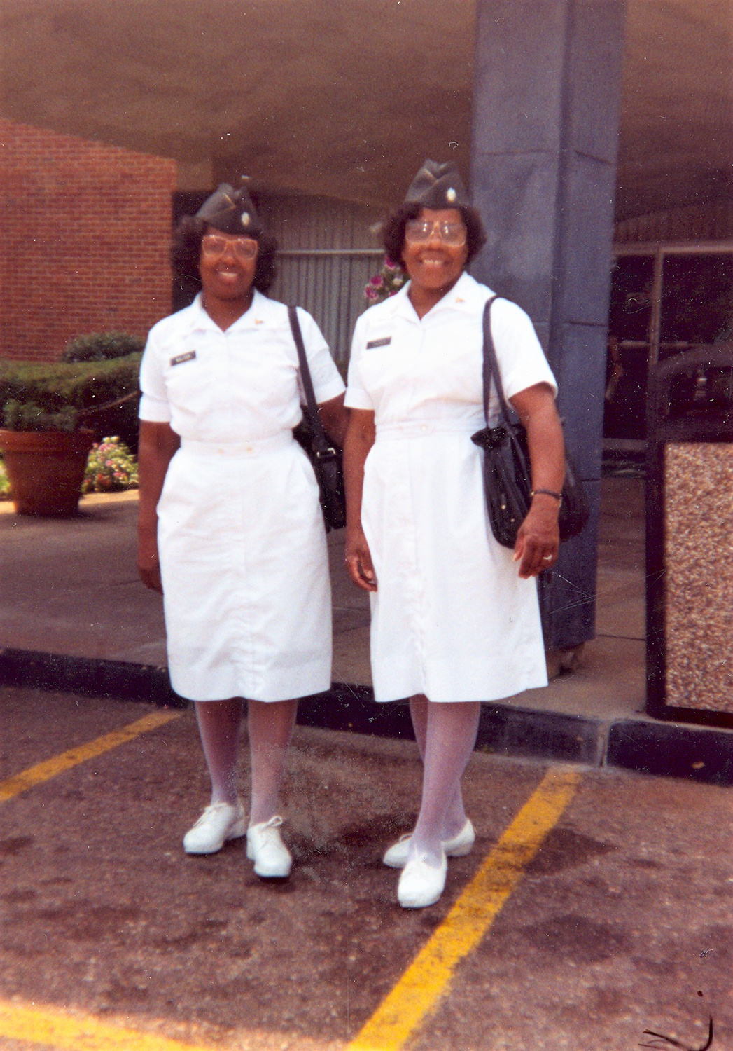 Patricia Tucker and a Colleague at St. Francis Hospital, c. 1991. Courtesy of Patricia Tucker.