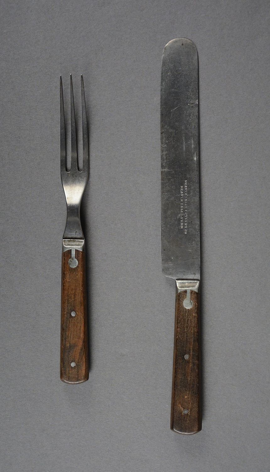 Flatware made by the Beaver Falls Cutlery Company, c. 1875. Gift of JoAnne S. Autenreith, 2011.49.4 a, b, Heinz History Center Museum Collections.